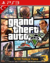 Grand Theft Auto V PS3 KLON OYUN